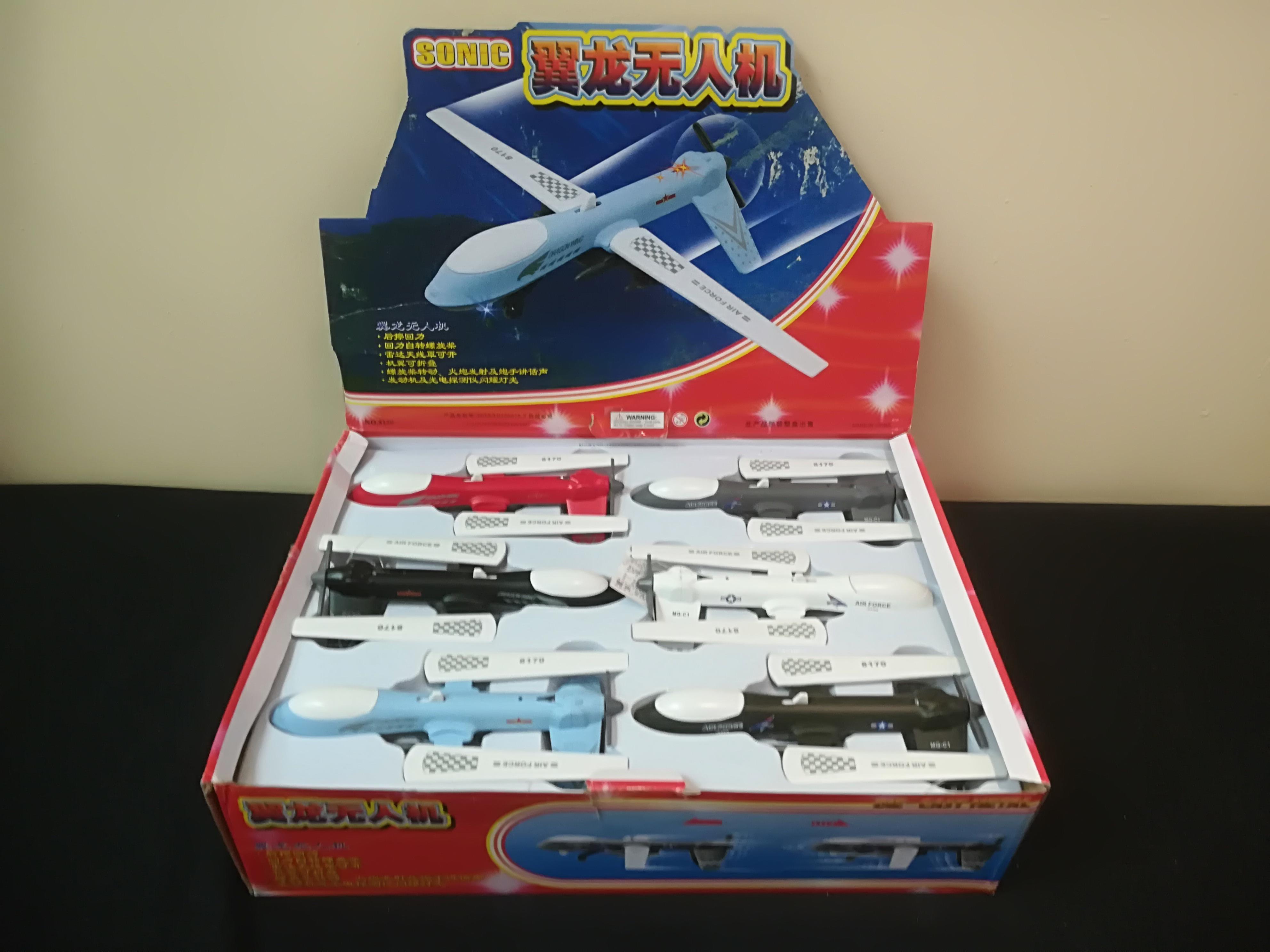 Mercury Wholesalers Sonic Pack Toys
