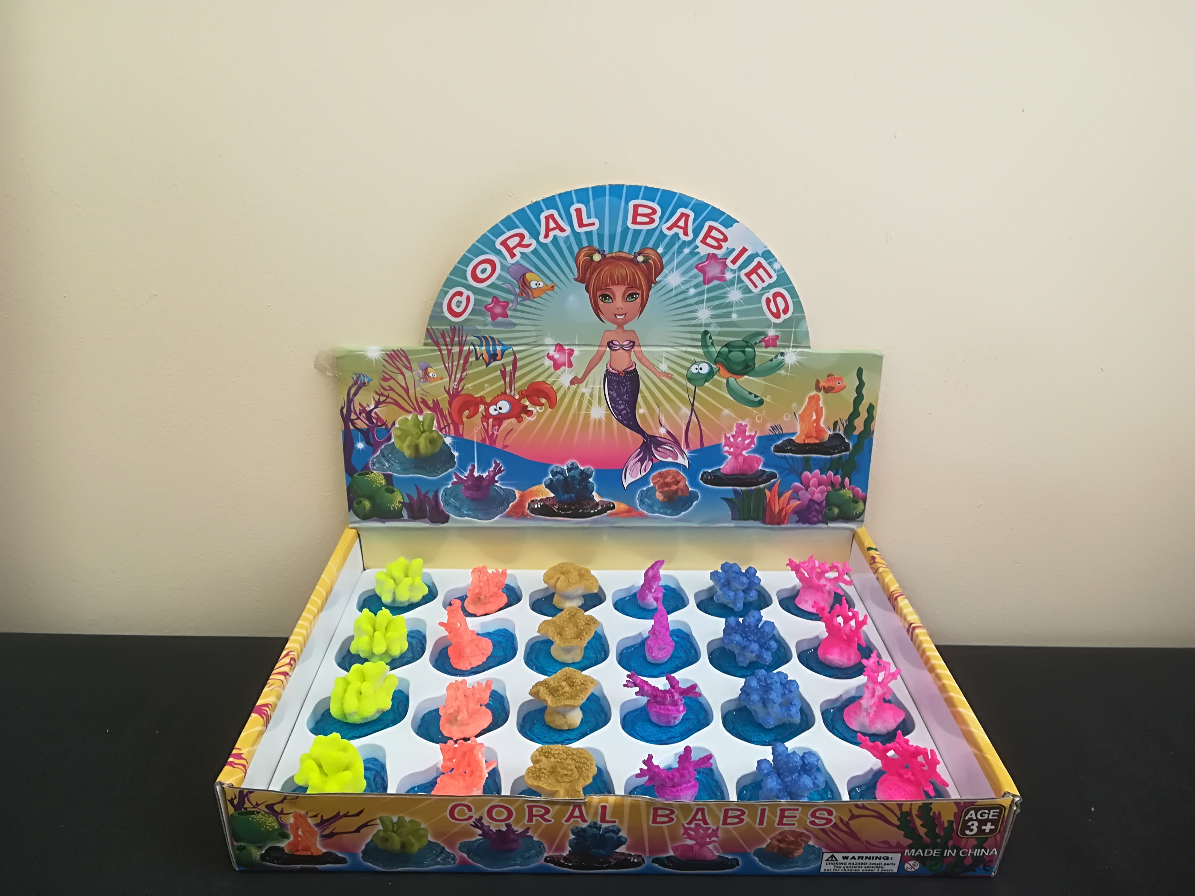 Coral Babies toys from Mercury Wholesalers