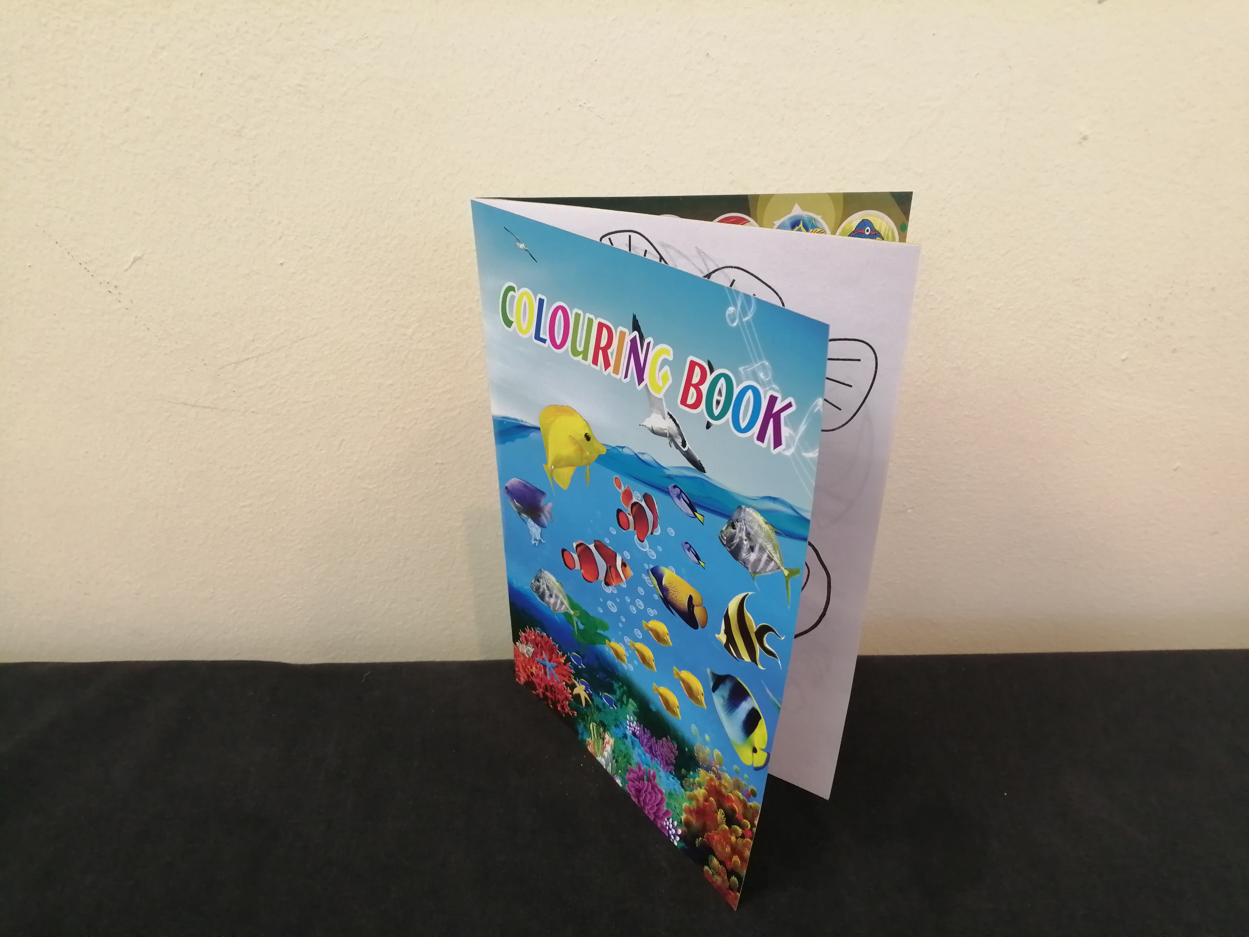 Colouring Book from Mercury Wholesalers