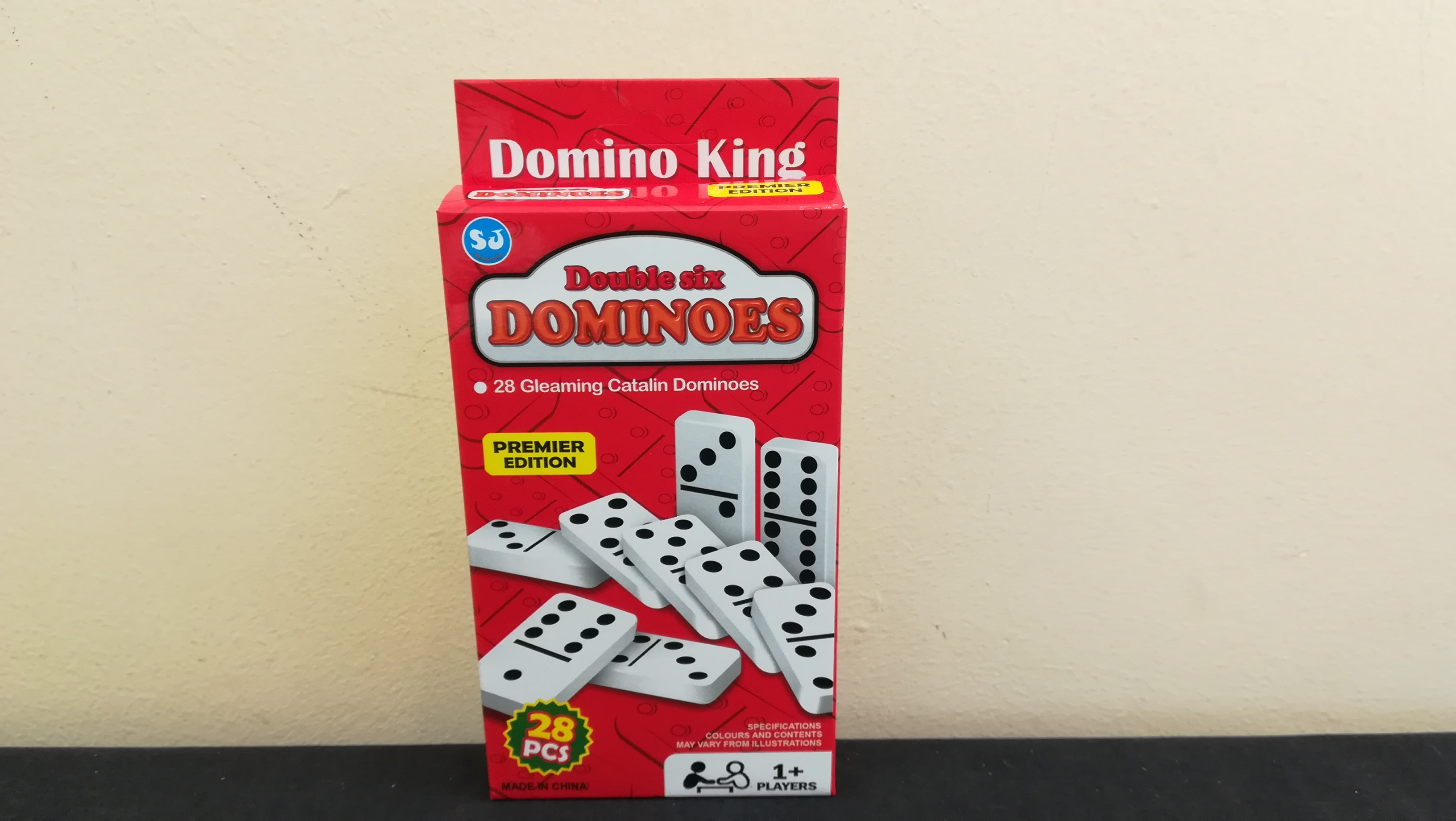 Double Six Dominoes by Importers of Toys