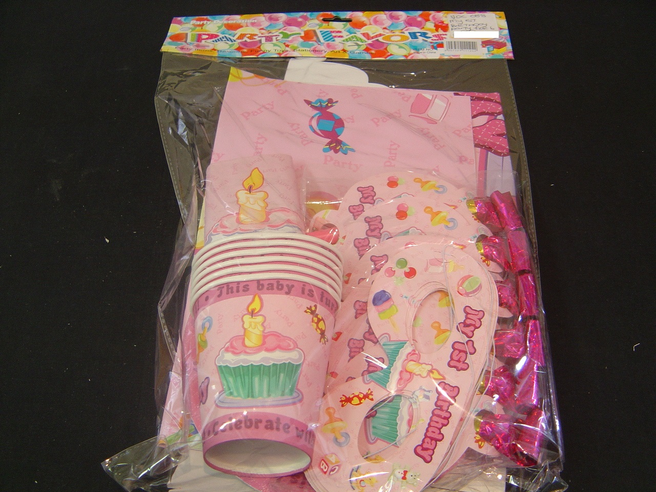 Kids party accessories