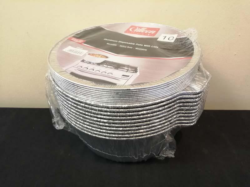 Foil Container Lid 25cm