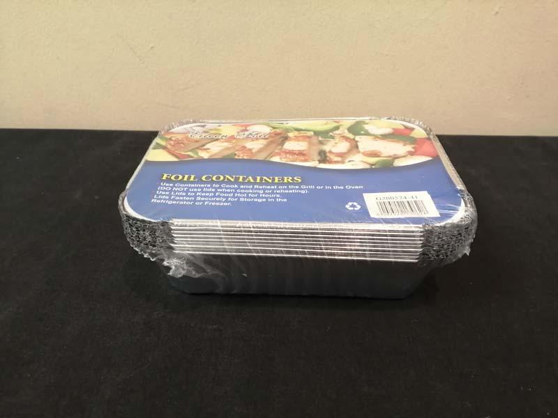 Foil Container Lid 18cm x 12.5cm